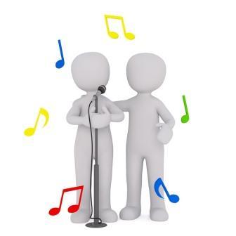Quelle:  https://pixabay.com/de/singen-chor-musik-s%C3%A4nger-s%C3%A4ngerin-2533813/ (30.04.2018).