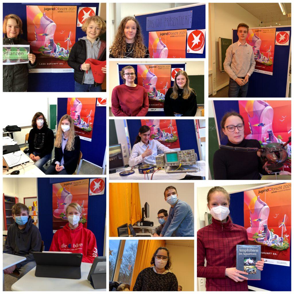 Teilnehmer Jugend forscht 2021